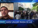 Unjuk Rasa Memanas, DPR RI Pastikan Keselamatan WNI di AS