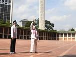 Jokowi Pantau Persiapan New Normal Masjid Baiturrahim Istana