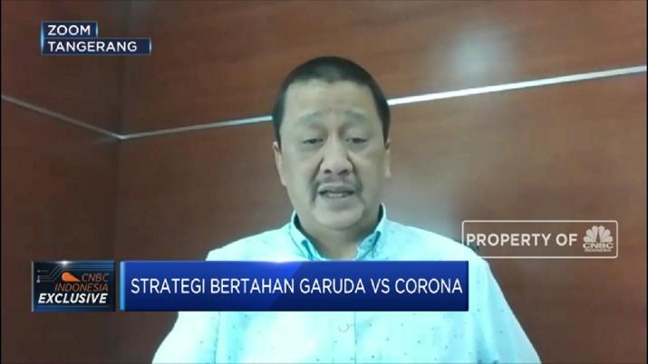 Penumpang Dibatasi Saat pandemi, Garuda Tingkatkan Layanan Cargo (CNBC Indonesia TV)