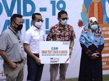 Ada 2.000 Tes Swab Gratis dari BNI di Sumatera Barat