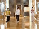 Jokowi Blusukan Pantau Kesiapan New Normal Masjid Istiqlal