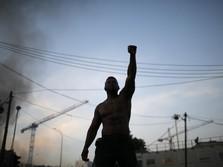 Demo AS Menular: Eropa Dilanda Protes, Inggris Bentrok