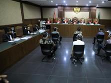 Sidang Perdana Jiwasraya Digelar, Ini Penampakan Bentjok Cs