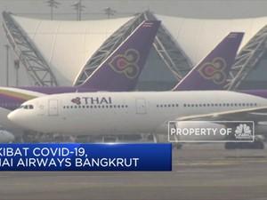 Akibat Covid-19, Thai Airways Bangkrut
