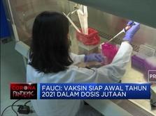 Penasihat Kesehatan Gedung Putih Angkat Suara Terkait Vaksin