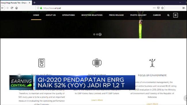 ENRG Q1-2020, Laba Bersih PT Energi Mega Persada Naik 69% (YoY)
