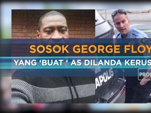 Sosok George Floyd yang 'Buat' AS Dilanda Kerusuhan