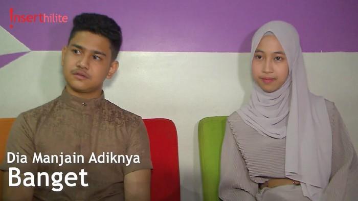 Abidzar Dikritik Netizen, Adiba: Dia Peduli Sama Keluarga