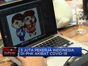 3 Juta Pekerja Indonesia di-PHK Akibat Covid-19