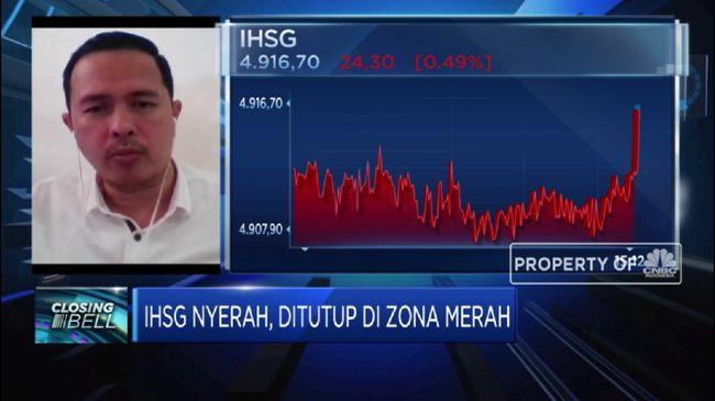IHSG Bursa Global Terkoreksi, IHSG Ditutup di Zona Merah