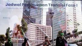 PSBB Diperpanjang, Jakarta Masuk Fase Transisi