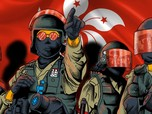 Antisipasi Rusuh, 3.000 Polisi Bersiaga Amankan Hong Kong