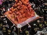 Begini Momen Mahasiswa Hong Kong Peringati Tragedi Tiananmen