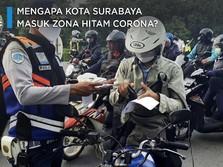 Mengapa Kota Surabaya Masuk Zona Hitam Corona?