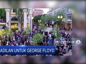 Demo Untuk George Floyd, Ribuan Orang Unjuk Rasa di Portland