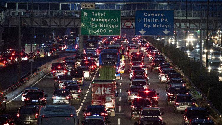 PSBB Transisi Langsung Bikin Jakarta Macet