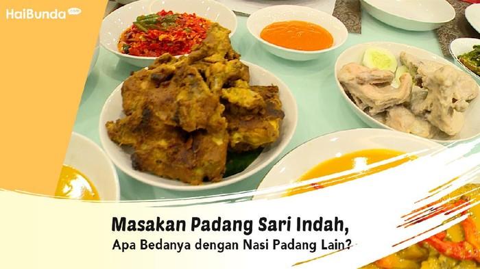 Masakan Padang Sari Indah, Apa Bedannya dengan Nasi Padang Lain?