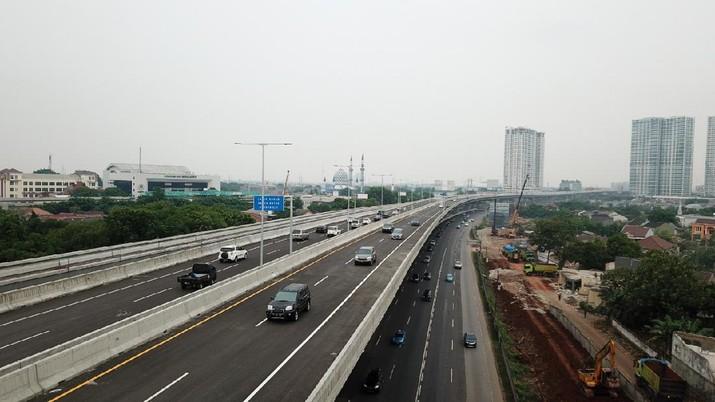 Jalan Tol Jakarta-Cikampek II (Elevated) Kembali Dibuka Secara Bertahap (Dok. Jasa Marga)