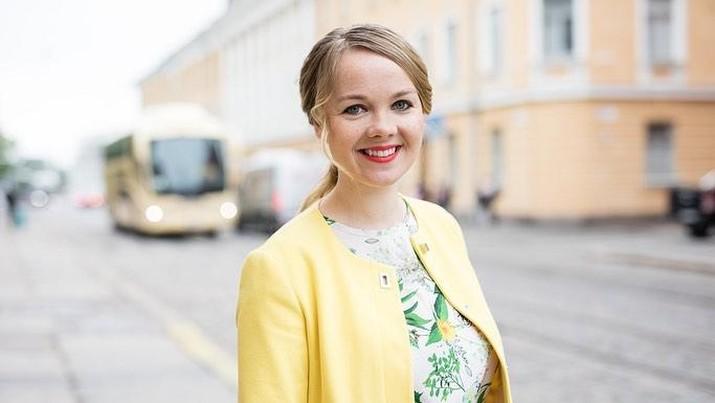 Menteri Keuangan Finlandia Katri Kulmuni (tangkapan layar instagram @katrikulmuni)