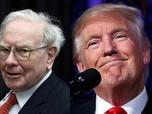 Trump Kasih Saran Investasi ke Warren Buffett, Gak Salah nih?