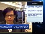 Armand Maulana: Industri Musik RI Terdampak Corona 90%