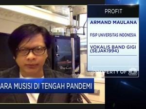 Curhat Armand Maulana Soal Industri Musik Saat Pandemi
