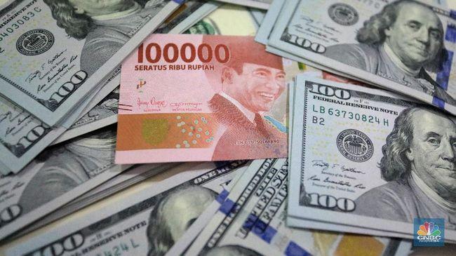 Dolar AS Jempol ke Bawah, Rupiah Bisa Dekati Rp 14.000/US$?