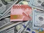 Pukul 12:00 WIB: Rupiah Melemah ke Rp 14.360/US$