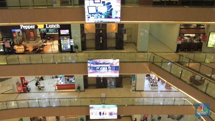 Mall Grand Metropolitan (CNBC Indonesia/Tri Susilo)