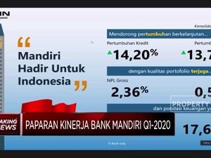 Q1-2020, Bank Mandiri Raih Laba Rp 7,9 Triliun