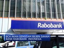 BCA Siapkan Rp 500 M Akuisisi Bank Rabobank Indonesia