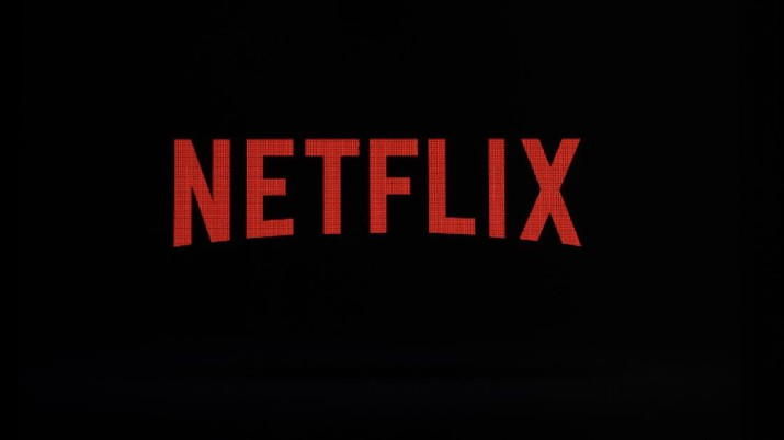 FILE - This July 17, 2017, file photo shows a Netflix logo on an iPhone in Philadelphia.  Netflix's first Arabic original series, the supernatural teen drama
