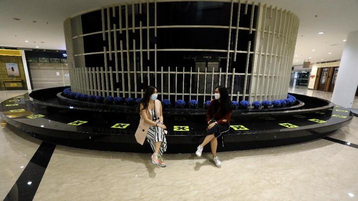 Mall Senayan City Jelang Pembukaan Mall di Jakarta (CNBC Indonesia/Andrean Kristianto)