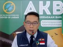 Kata Ridwan Kamil Soal Tak Terkendalinya Kasus Corona RI