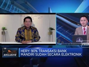 Hery Gunardi: Transaksi Digital Bank Mandiri Sudah Capai 90%