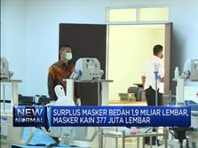 Indonesia Alami Surplus Masker dan APD