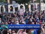 Ribuan Buruh Pabrik Nissan Melakukan Unjuk Rasa di Barcelona