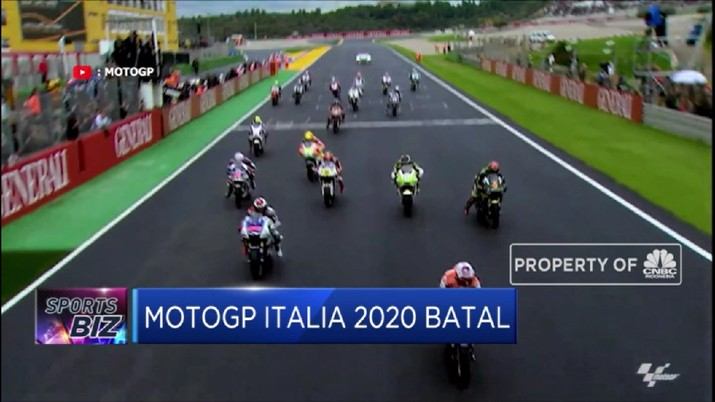 Ajang MotoGP Italia 2020 Batal