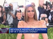 Beyonce Nego Kontrak Sebesar Rp 14 T dengan Disney