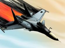 Mengintip Jet Tempur SU-30 China yang Terobos Langit Taiwan