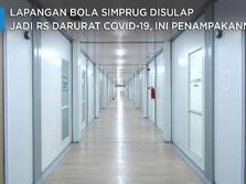 Pertamina Sulap Lapangan Bola Jadi RS Covid-19 Super Lengkap