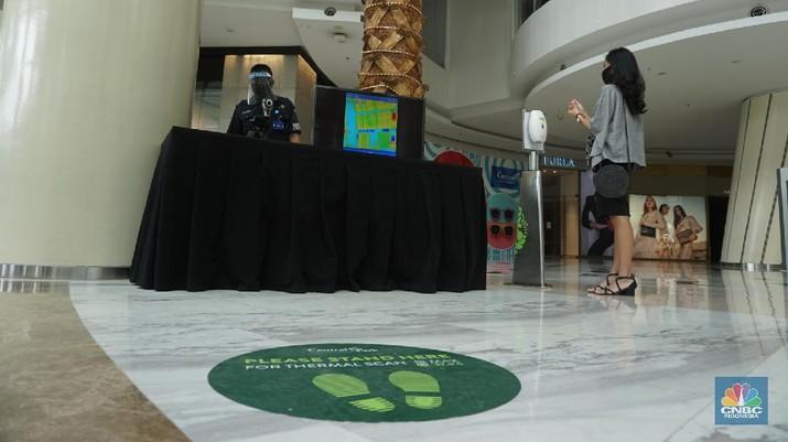 Mall Central Park (CNBC Indonesia/Tri Susilo)