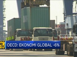 OECD Proyeksi Ekonomi Global Terkontraksi -6% di 2020