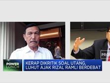 Panas! Luhut Tantang Debat Rizal Ramli