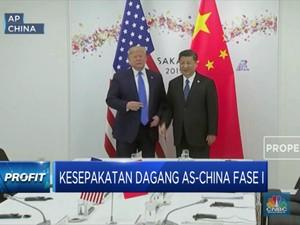 China Berkomitmen Menjalankan Kesepakatan Dagang Fase I