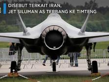 Disebut Terkait Iran, Jet Siluman AS Terbang ke Timteng