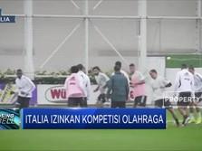 Italia Izinkan Kompetisi Olahraga