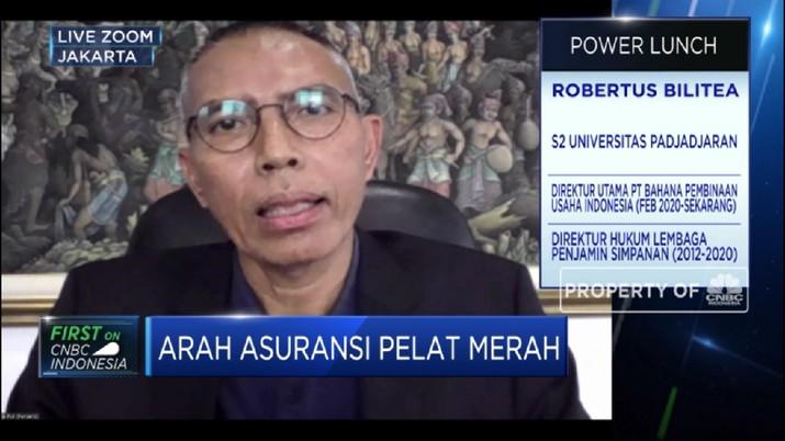 Menakar Arah Bisnis Holding Asuransi, Ini Penjelasan BPUI(CNBC Indonesia TV)