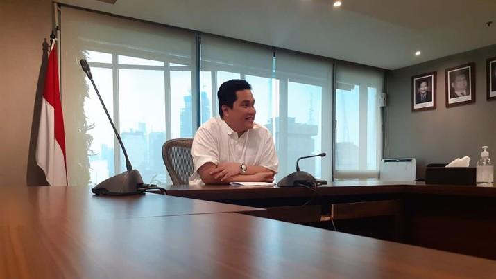 Menteri BUMN Erick Thohir  (Dok. BUMN)