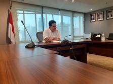 Direstui Jokowi, Erick Kurangi Jumlah BUMN